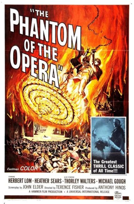 The Phantom of the Opera (1962) poster