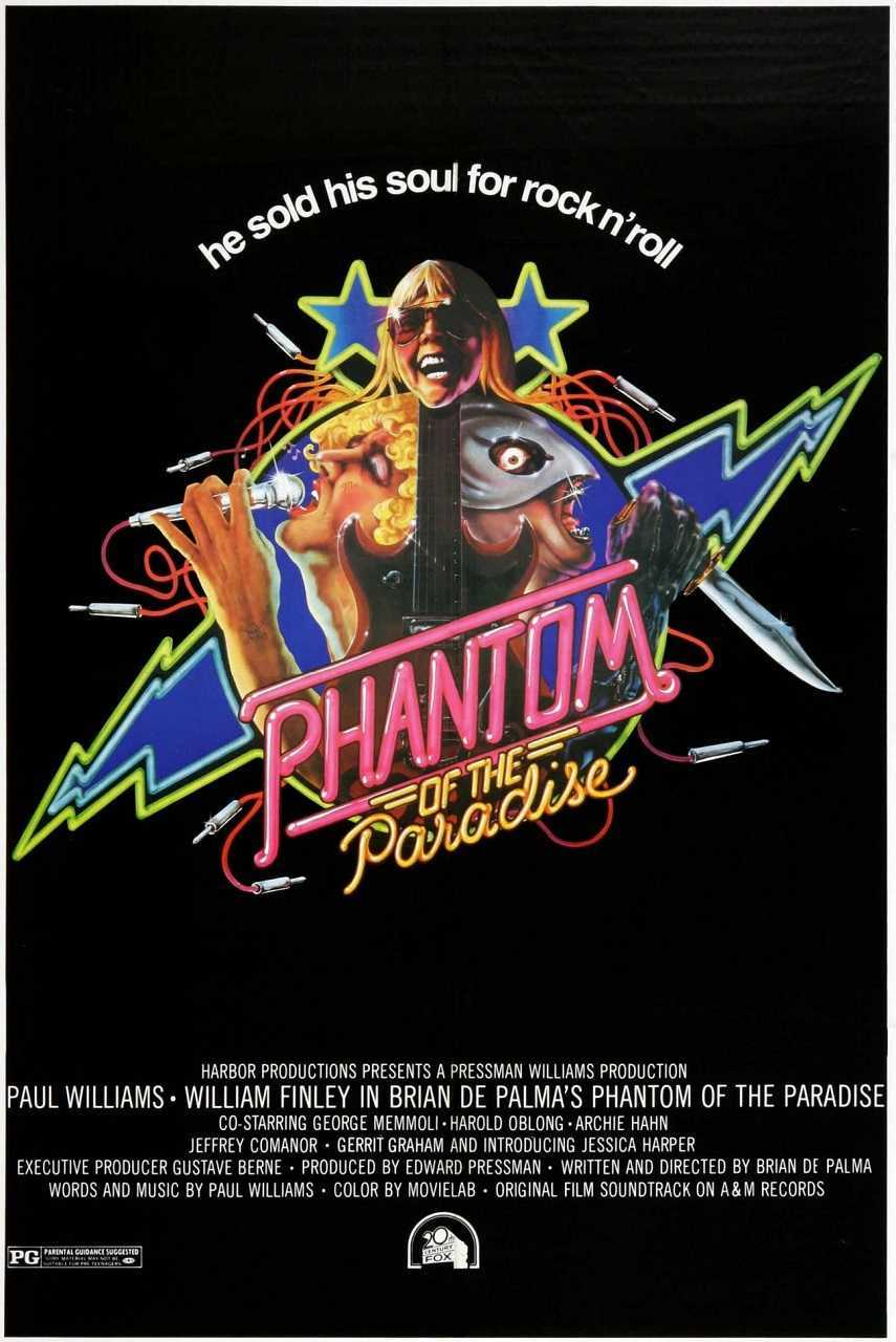 The Phantom of the Paradise (1974) poster