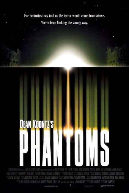 Phantoms (1998) poster