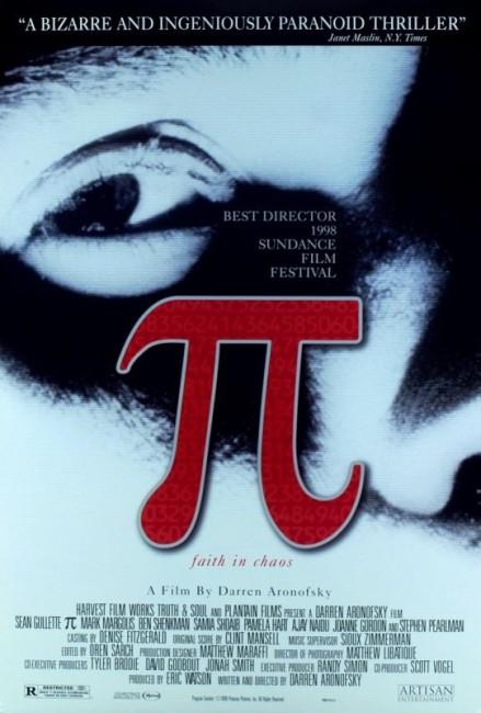 Pi (1998) poster