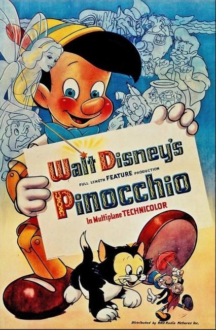 Pinocchio (1940) poster