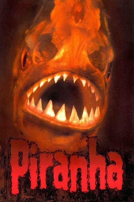 Piranha (1995) poster