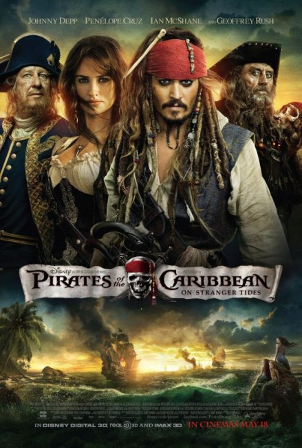 Pirates of the Caribbean: On Stranger Tides (2011) poster