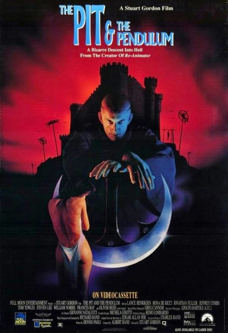 The Pit and the Pendulum (1991) poster