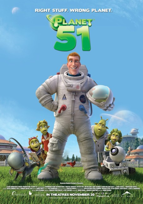 Planet 51 (2009) poster