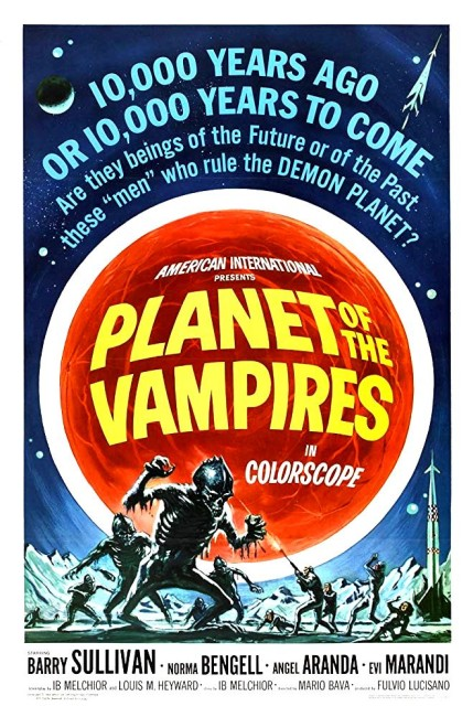 Planet of the Vampires (1965) poster