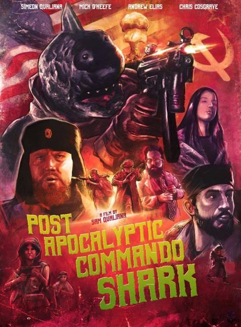 Post Apocalyptic Commando Shark (2018) poster