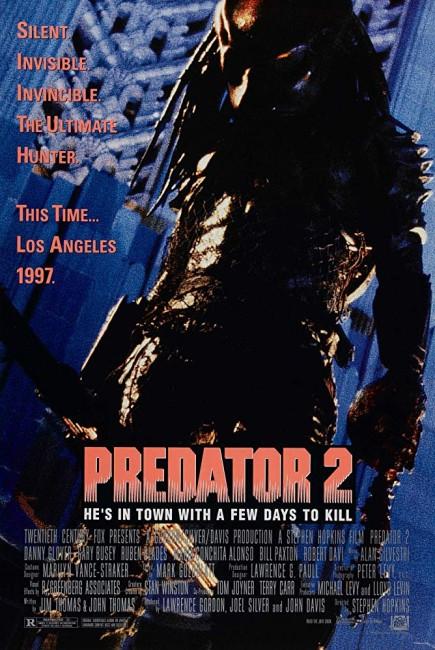 Predator 2 (1990) poster