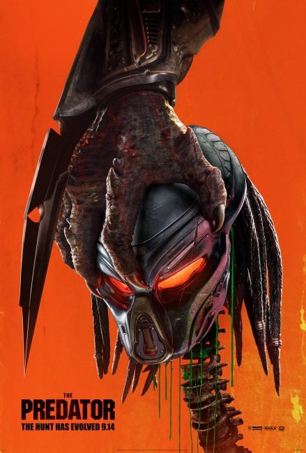 The Predator (2018) poster