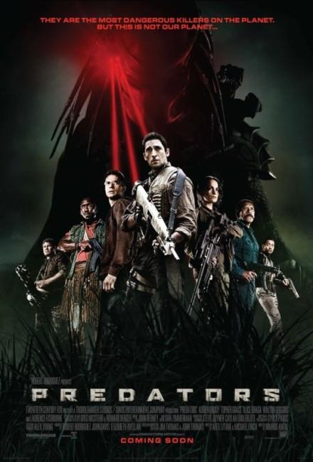 Predators (2010) poster