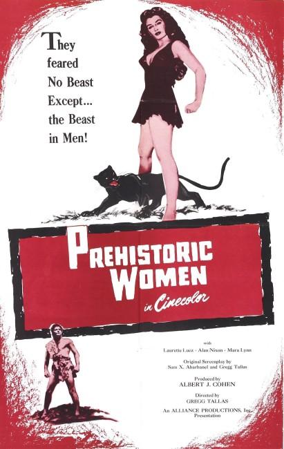 Prehistoric Women (1950) poster