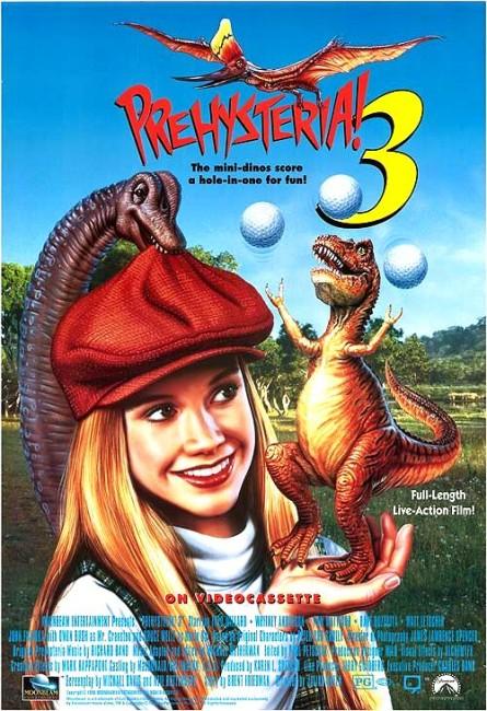 Prehysteria! 3 (1995) poster
