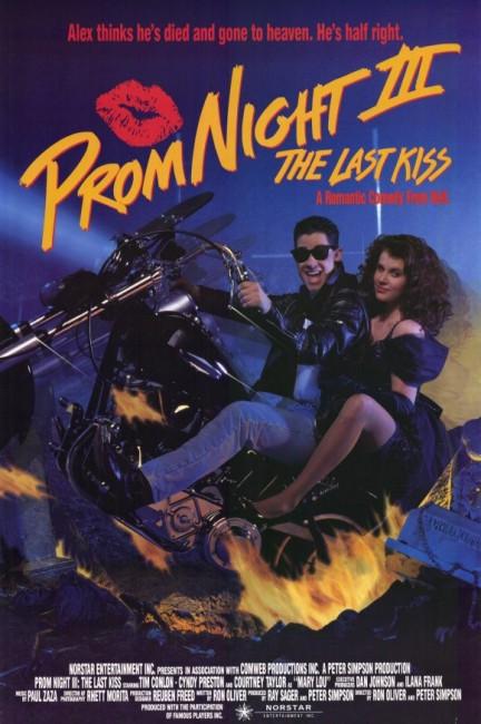 Prom Night III: The Last Kiss (1990) poster