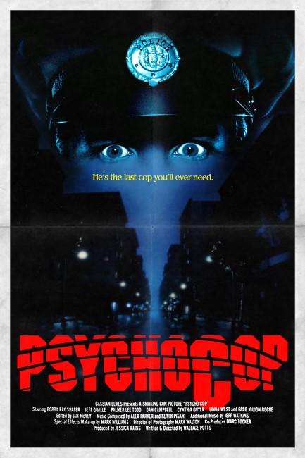 PsychoCop (1989) poster