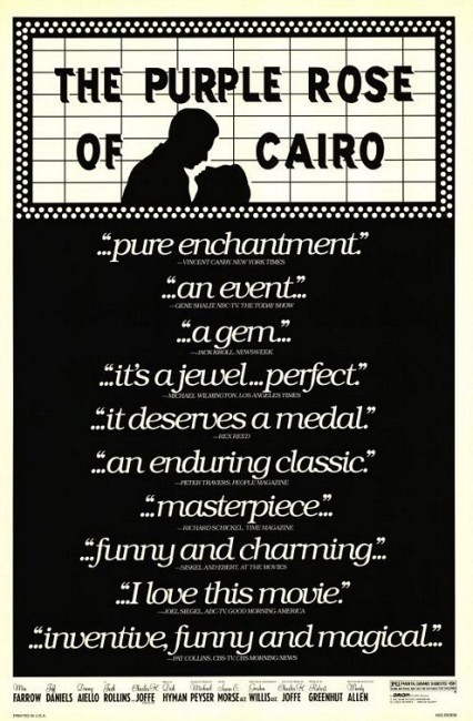 The Purple Rose of Cairo (1985) poster