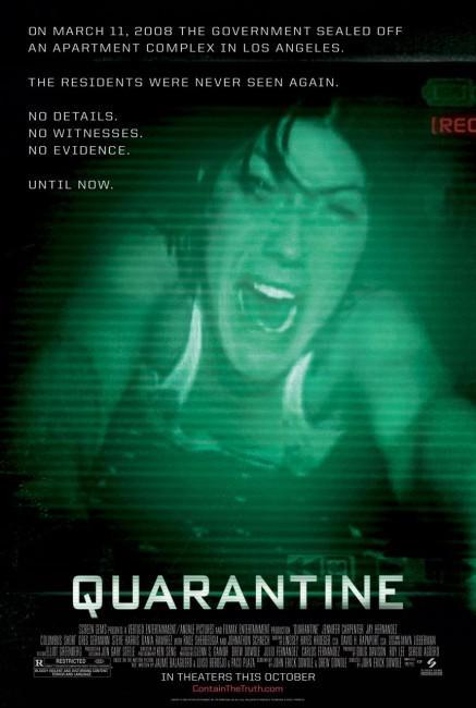 Quarantine (2008) poster