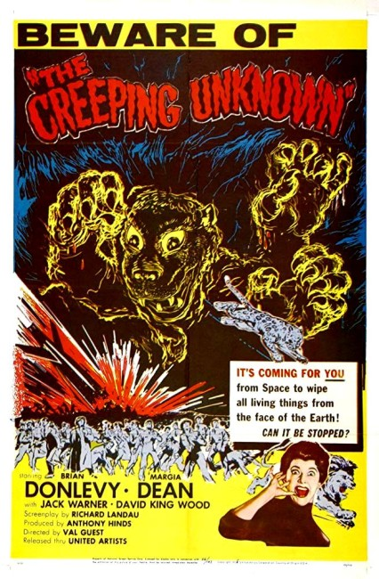 The Quatermass Xperiment/The Creeping Unknown (1955) poster
