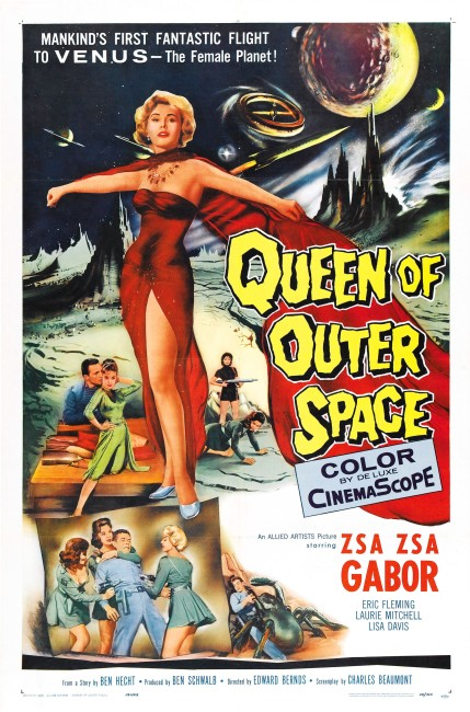 Queen of Outer Space (1958) poster