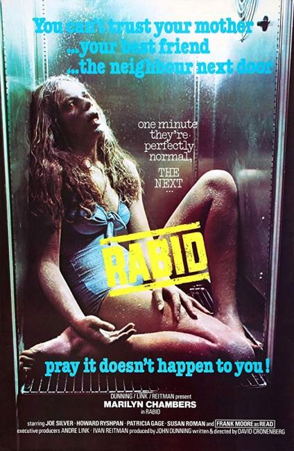 Rabid (1977) poster