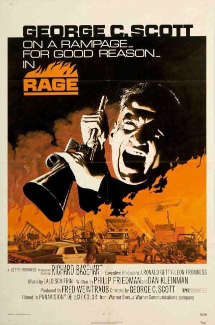 Rage (1972) poster