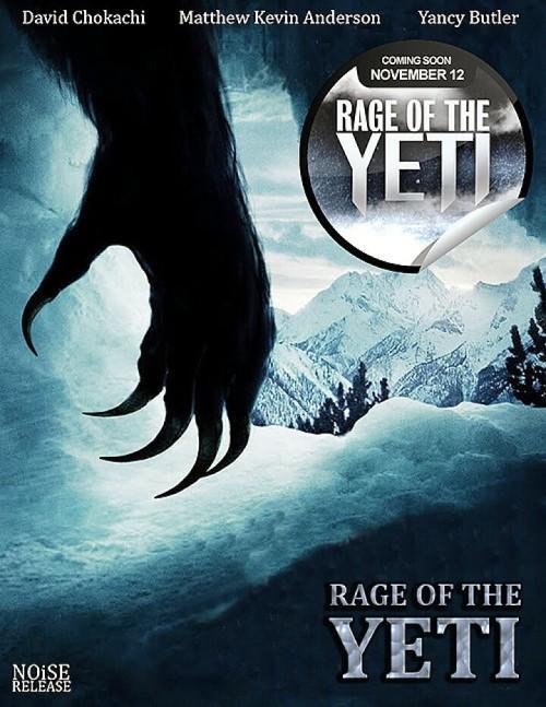 Rage of the Yeti (2011) poster