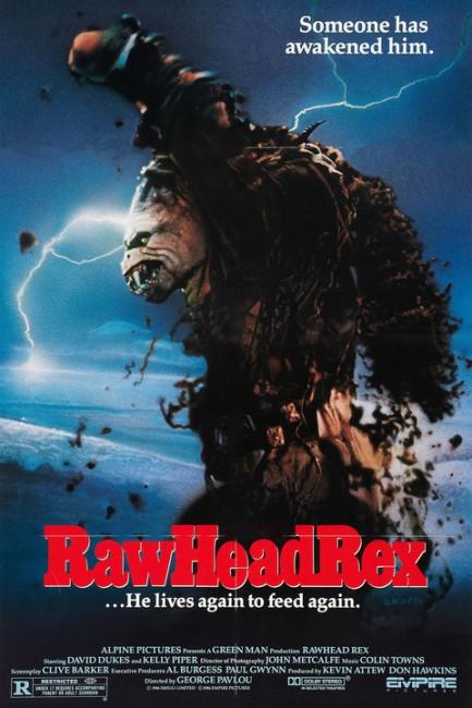 Rawhead Rex (1986) poster