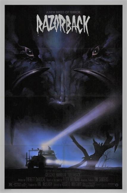 Razorback (1984) poster