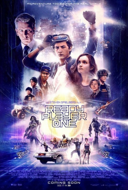 Ready Player One (2018) poster