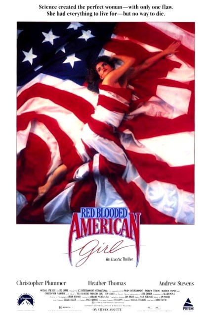 Red Blooded American Girl (1990) poster