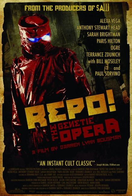 Repo: The Genetic Opera (2008) poster