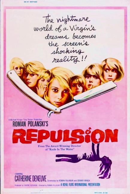 Repulsion (1965) poster