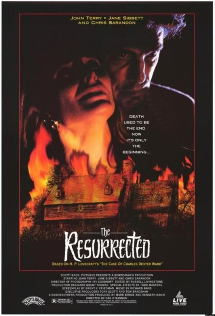 The Resurrected (1992) poster