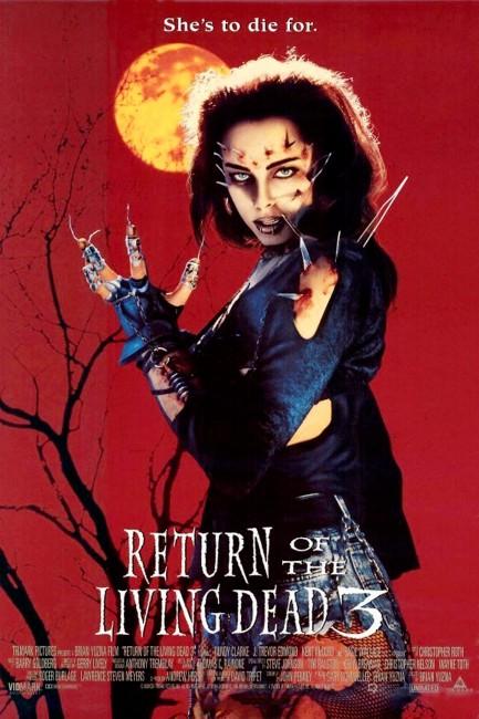 Return of the Living Dead III (1993) poster
