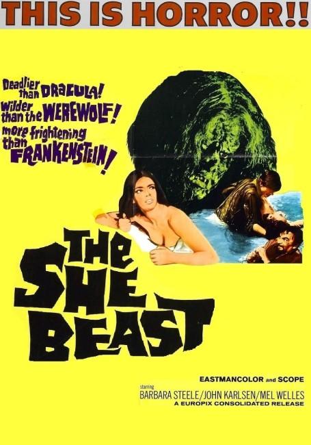 Revenge of the Blood Beast/The She Beast (1965) poster