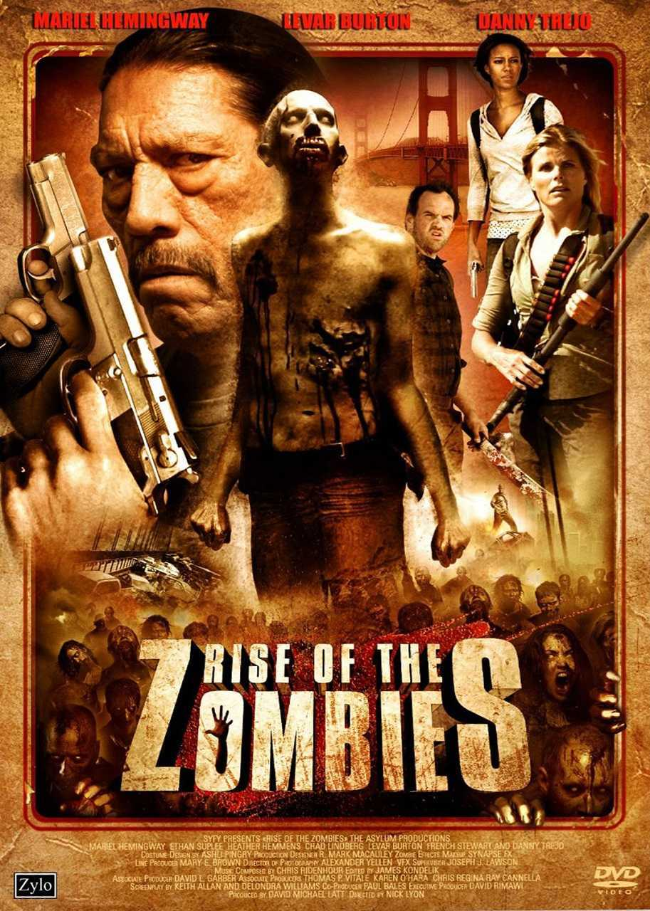 Rise of the Zombies (2012) poster