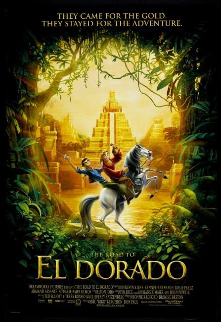 The Road to El Dorado (2000) poster