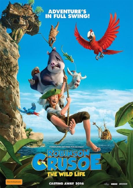 Robinson Crusoe (2016) poster