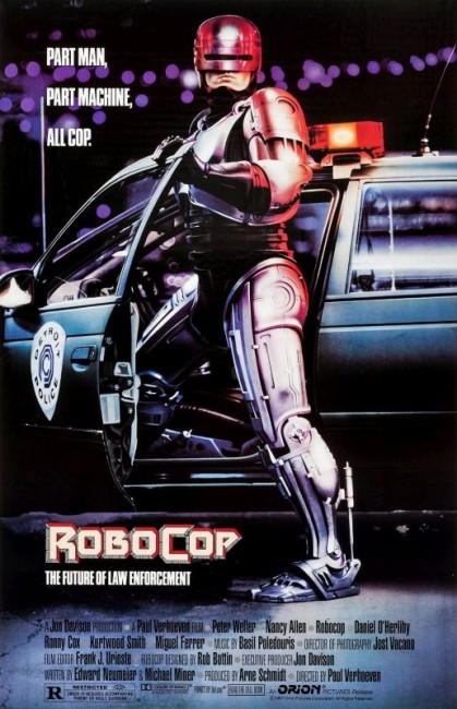 RoboCop (1987) poster