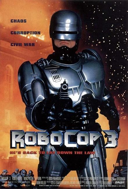 Robocop 3 (1993) poster