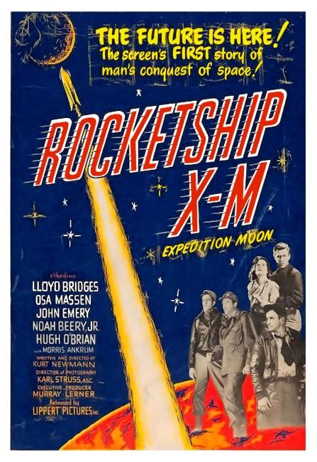 Rocketship X-M (1950) poster