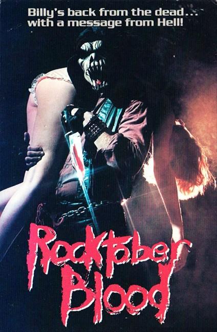 Rocktober Blood (1984) poster