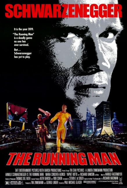 The Running Man (1987) poster