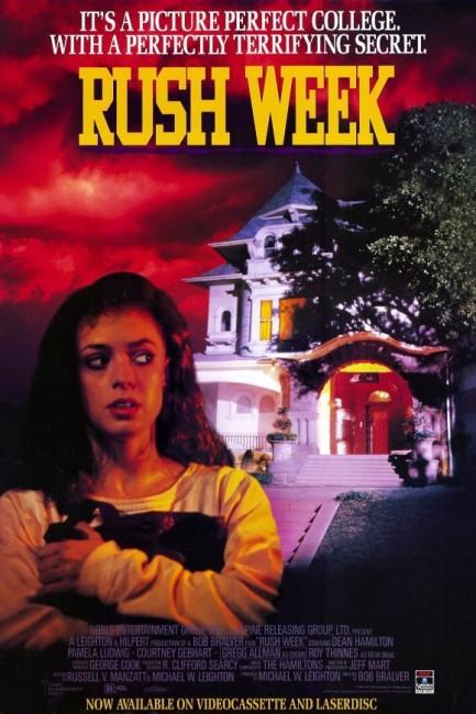 Rush Week (1989) poster