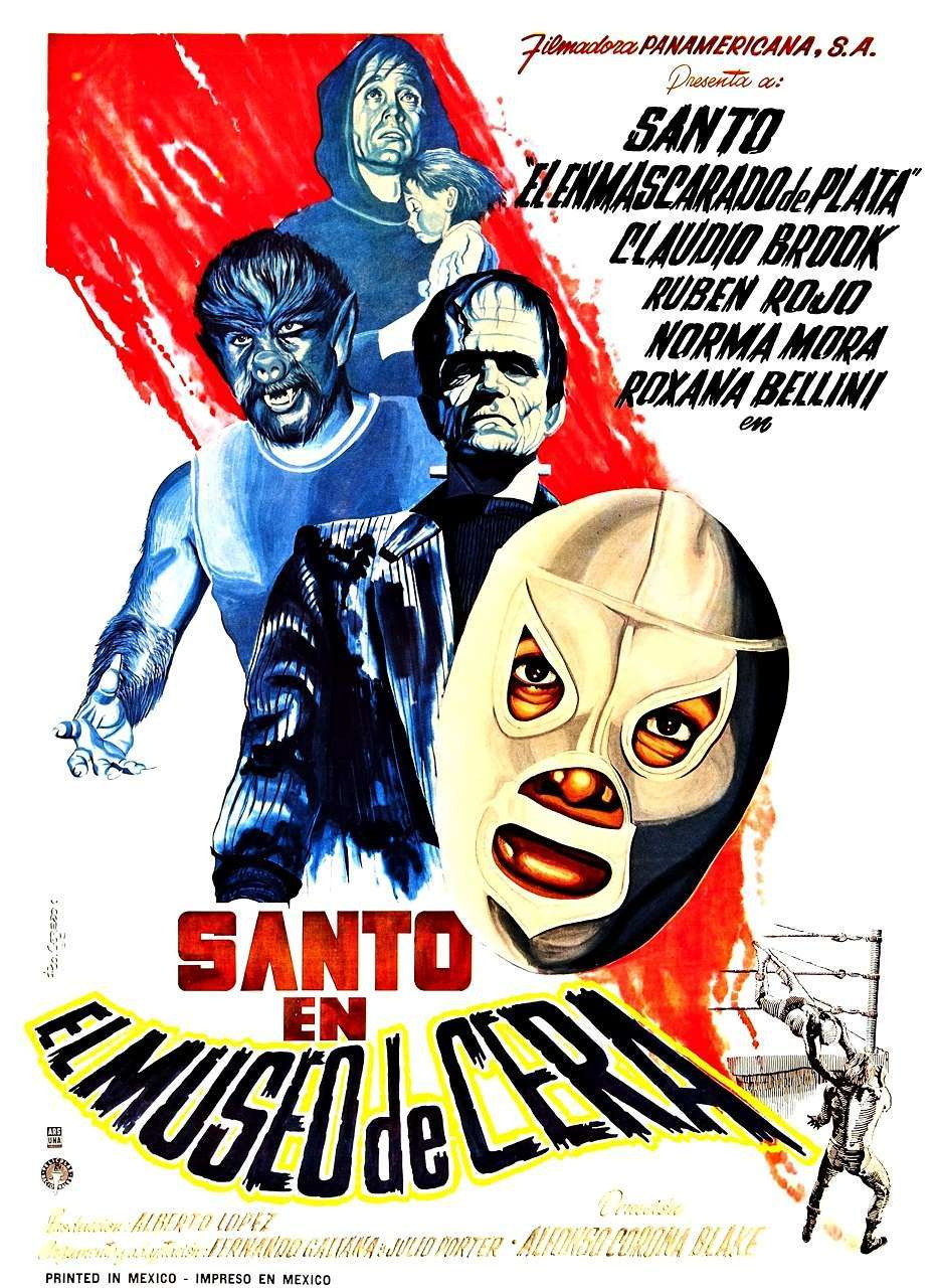 Santo in the Wax Museum (1963) poster