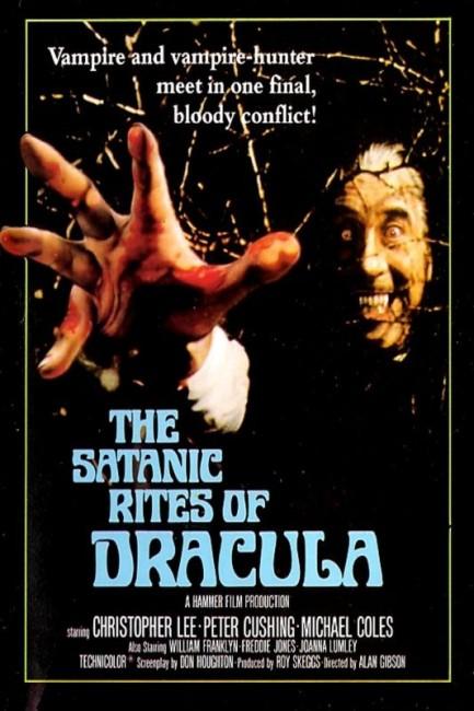 The Satanic Rites of Dracula (1973) poster