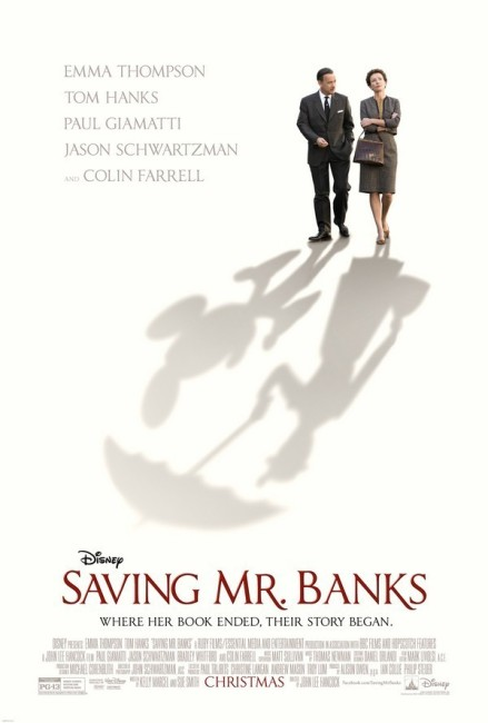 Saving Mr Banks (2013) poster