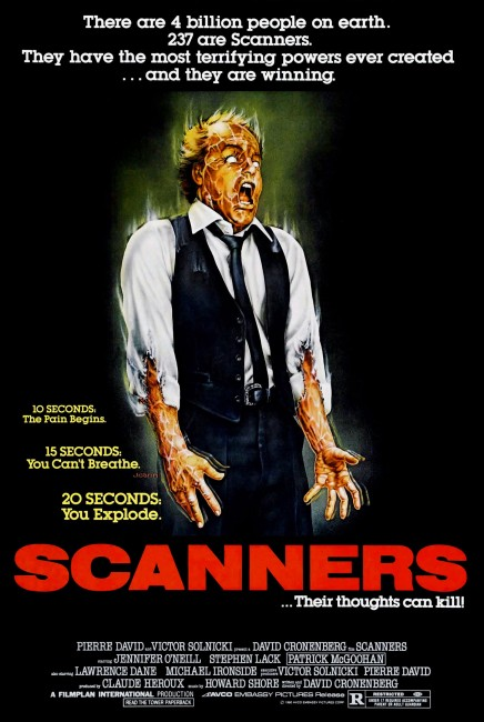 Scanners (1981) poster