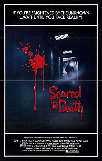 Scared to Death (1980) poster