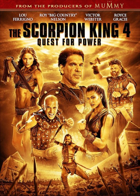 The Scorpion King 4: Quest for Power (2015) poster
