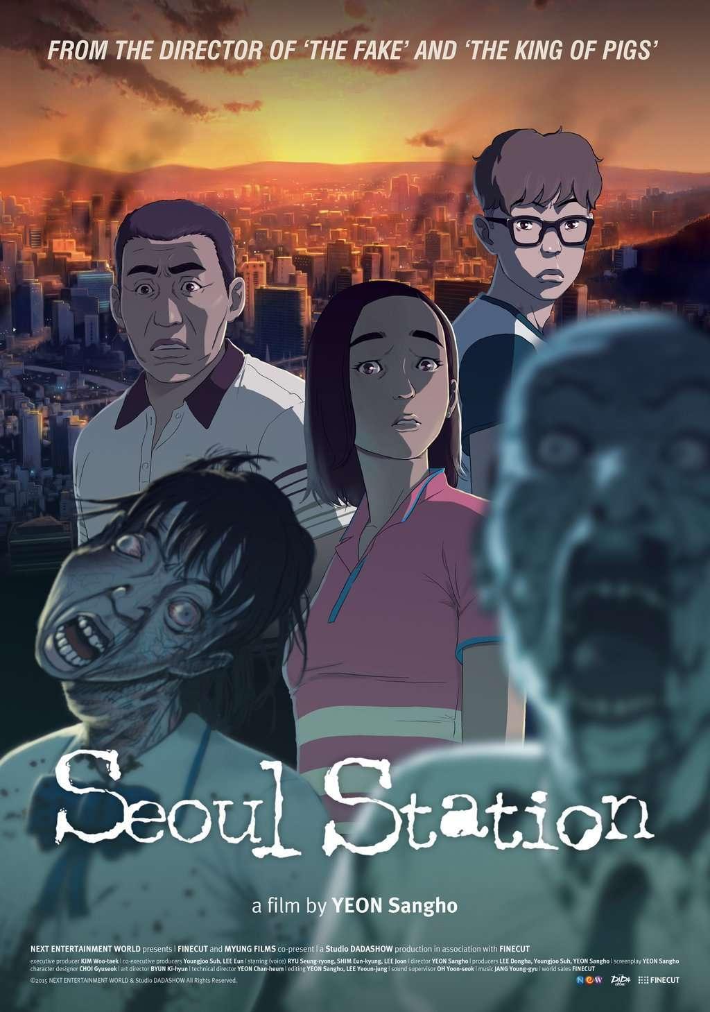 Seoul Station (2016) poster